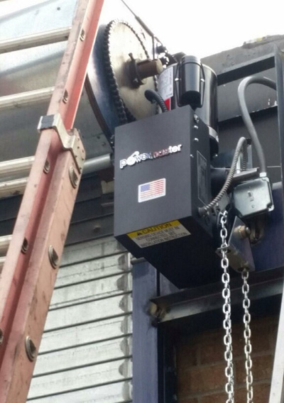 Rollup Door Motor New York City Rolling Gate Operator