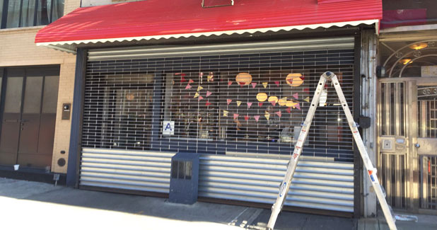 Storefront Door Gate Manhattan New York