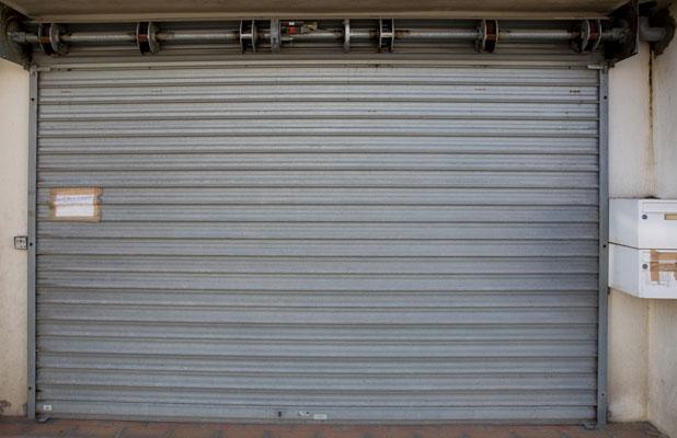Storefront door gate manhattan new york for 24 7 garage door repair near me